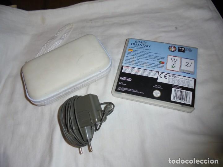 Videojuegos y Consolas: CONSOLA NINTENDO DS LITE FUNCIONANDO.CON FUNDA CARGADOR JUEGO BRAIN TRAINING - Foto 12 - 159578822