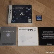 Videojuegos y Consolas: NINTENDO DS JUEGO ELECTROPLANKTON. Lote 160085290