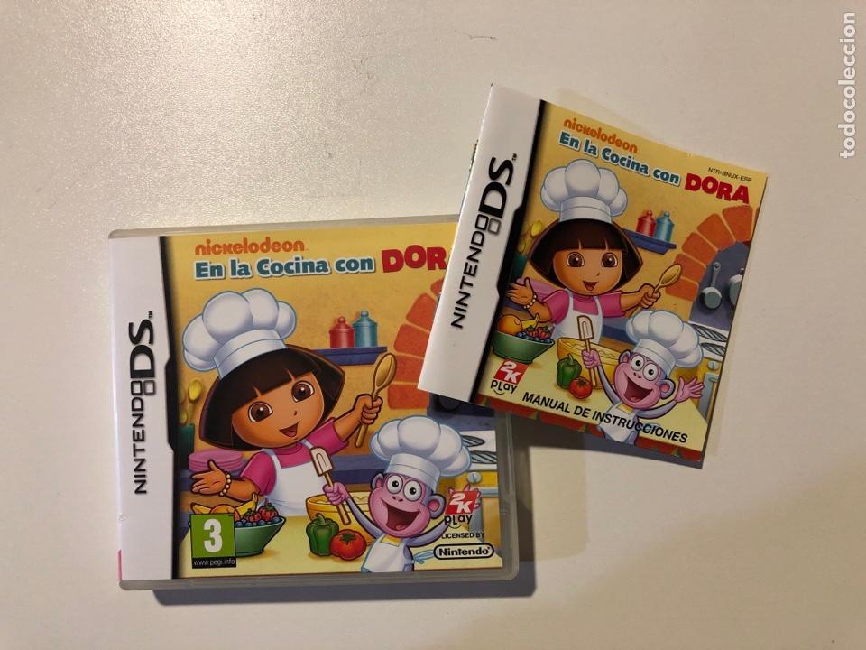 JUEGO NINTENDO DS EN LA COCINA CON DORA NICKELODEON +3 AÑOS (Juguetes - Videojuegos y Consolas - Nintendo - DS)