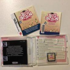 Videojuegos y Consolas: JUEGO NINTENDO DS BIG BRAIN ACADEMY.MADE IN JAPAN. + 3 AÑOS. Lote 160312629