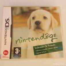 Videojuegos y Consolas: NINTENDO DS - NINTENDOGS. Lote 161877946