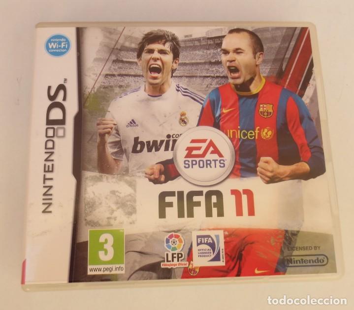 NINTENDO DS – FIFA 11 (Juguetes - Videojuegos y Consolas - Nintendo - DS)