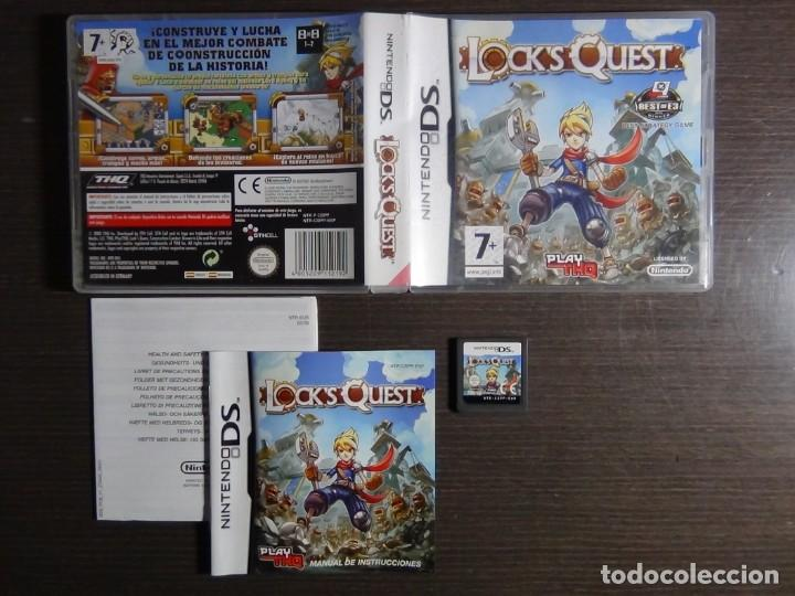 JUEGO LOCK'S QUEST PAL ESPAÑA NINTENDO DS (Juguetes - Videojuegos y Consolas - Nintendo - DS)