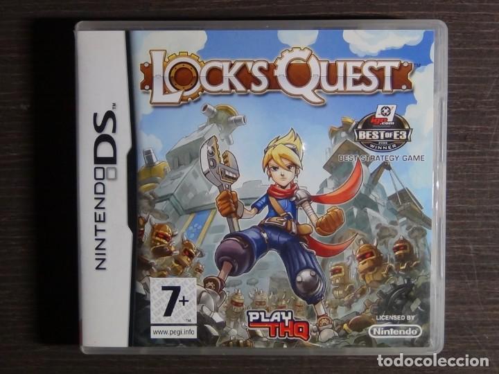 Videojuegos y Consolas: JUEGO LOCKS QUEST PAL ESPAÑA NINTENDO DS - Foto 2 - 161886778