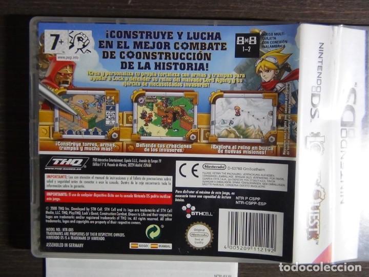 Videojuegos y Consolas: JUEGO LOCKS QUEST PAL ESPAÑA NINTENDO DS - Foto 4 - 161886778