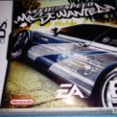 Videojuegos y Consolas: JUEGO NINTENDO DS NEED FOR SPEED MOST WNTED. Lote 164980482