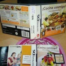 Videojuegos y Consolas: COCINA CONMIGO, NINTENDO DS - SEMINUEVO. Lote 165308450