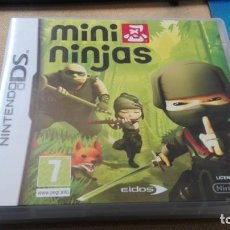 Videojuegos y Consolas: NINTENDO DS MINI NINJAS. Lote 165615774