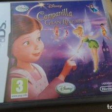 Videojuegos y Consolas: NINTENDO DS CAMPANILLA Y EL GRAN RESCATE. Lote 200583422