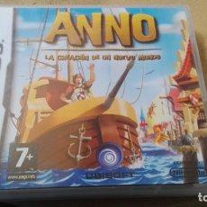 Videojuegos y Consolas: NINTENDO DS ANNO LA CREACION DE UN NUEVO MUNDO. Lote 165617002