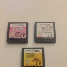 Videojuegos y Consolas: JUEGOS DS FINAL FANTASY , SIMPSON Y BARBIE. Lote 166214949