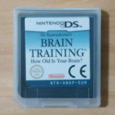 Videojuegos y Consolas: JUEGO DE NINTENDO DS , BRAIN TRAINING , SOLO CARTUCHO. Lote 166789918