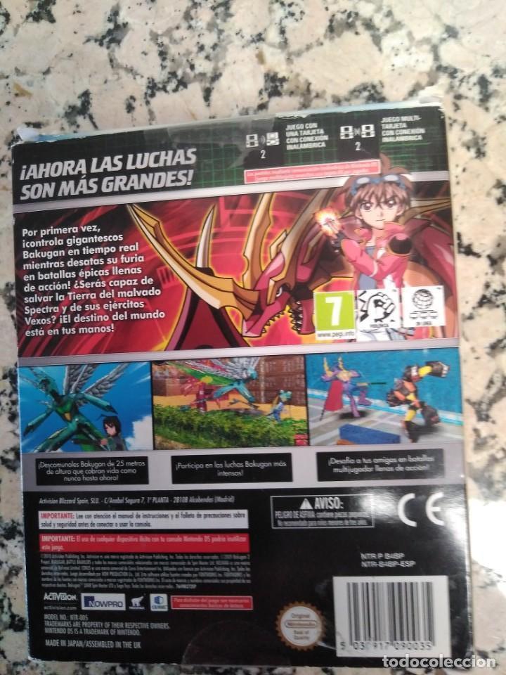 Videojuegos y Consolas: Juego Bakugan Nintendo DS - Foto 3 - 166844766