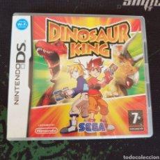 Videogiochi e Consoli: DINOSAUR KING (JUEGO EN CASTELLANO, MANUAL Y CAJA EN INGLÉS) DIFÍCIL. Lote 209658745
