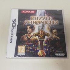 Jeux Vidéo et Consoles: J6- PUZZLE CHRONICLES NINTENDO DS VERSION ESPAÑOLA NUEVO PRECINTADO. Lote 168074744