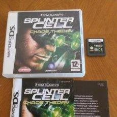 Videojuegos y Consolas: SPLINTER CELL, CHAOS THEORY - NINTENDO DS. Lote 168564076