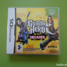 Videojuegos y Consolas: GUITAR HERO ON TOUR DECADES NINTENDO DS. Lote 168818608