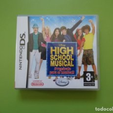 Videojuegos y Consolas: HIGH SCHOOL MUSICAL ¡PREPARATE PARA EL MUSICAL! NINTENDO DS. Lote 168818752