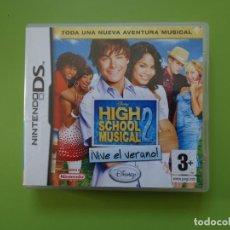 Videojuegos y Consolas: HIGH SCHOOL MUSICAL 2 ¡VIVE EL VERANO! NINTENDO DS. Lote 168818944