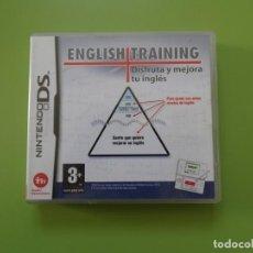 Videojuegos y Consolas: ENGLISH TRAINING: DISFRUTA Y MEJORA TU INGLES NINTENDO DS. Lote 168819164