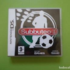 Videojuegos y Consolas: SUBBUTEO NINTENDO DS. Lote 168819896