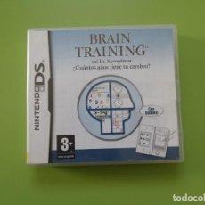 Videojuegos y Consolas: BRAIN TRAINING NINTENDO DS. Lote 168820072