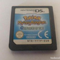 Jeux Vidéo et Consoles: POKEMON EXPLORADORES DEL TIEMPO NINTENDO DS PAL-EUROPA NDS. Lote 169805764