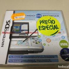 Videojuegos y Consolas: JJ-NINTENDO DS BROWSER DS NUEVO PRECINTADO VERSION ESPAÑA PROCEDE STOCK . Lote 171113563