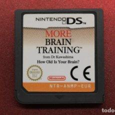 Videojuegos y Consolas: MORE BRAIN TRAINING, NINTENDO DS, FUNCIONA. Lote 171141665
