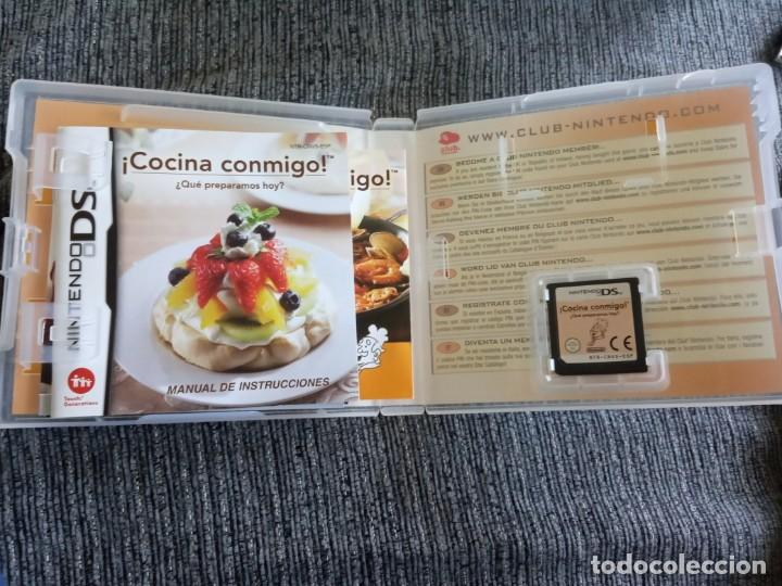 Videojuegos y Consolas: ¡ COCINA CONMIGO ! ¿ QUE PREPARAMOS HOY ? JUEGO NINTENDO DS EDICIÓN ESPAÑOLA - Foto 2 - 171644234