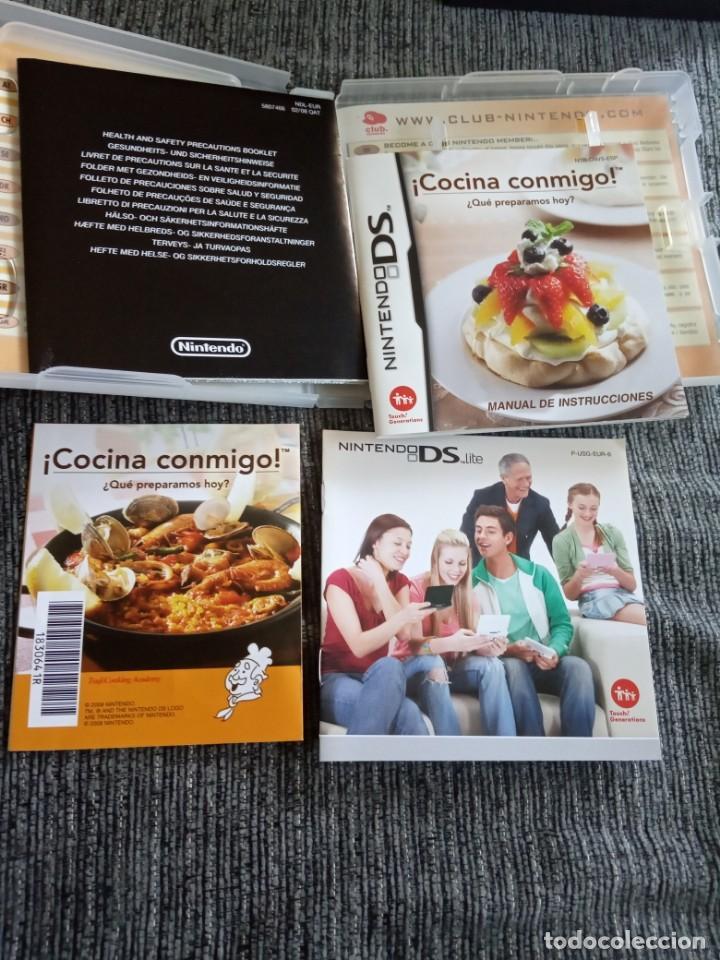Videojuegos y Consolas: ¡ COCINA CONMIGO ! ¿ QUE PREPARAMOS HOY ? JUEGO NINTENDO DS EDICIÓN ESPAÑOLA - Foto 3 - 171644234