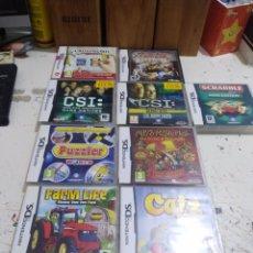 Videojuegos y Consolas: LOTE DE JUEGOS NINTENDO DS . Lote 172146868