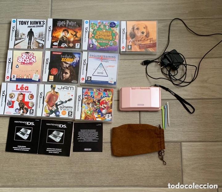 LOTE NINTENDO DS MÁS 10 JUEGOS (Juguetes - Videojuegos y Consolas - Nintendo - DS)