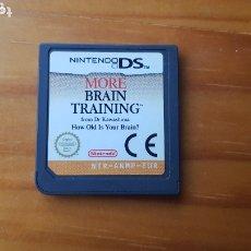 Videojuegos y Consolas: JUEGO NINTENDO DS MORE BRAIN TRAINING. Lote 172725293