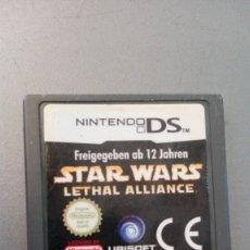 Videojuegos y Consolas: STAR WARS LETHAL ALLIANCE PARA NINTENDO DS. Lote 172745875