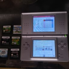 Videojuegos y Consolas: NINTENDO DS Y 6 JUEGOS. Lote 183560111