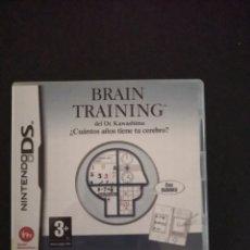 Videojuegos y Consolas: BRAIN TRAINING. Lote 173920052