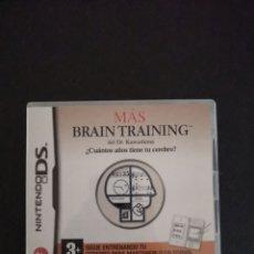 Videojuegos y Consolas: BRAIN TRAINING. Lote 173920205