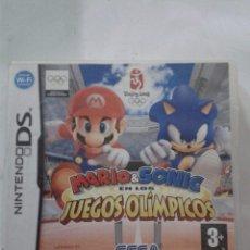 Videojuegos y Consolas: MARIO & SONIC EN LOS JUEGOS OLÍMPICOS. NINTENDO DS.. Lote 174470377