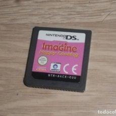 Videojuegos y Consolas: NINTENDO NDS DS JUEGO IMAGINE HAPPY COOKING. Lote 175103252
