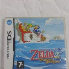 Videojuegos y Consolas: SOLO CAJA Y MANUALES-NINTENTO DS-THE LEGEND OF ZELDA PHANTOM HOURGLASS-PAL. Lote 207113770