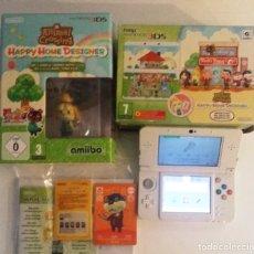 Videojuegos y Consolas: CONSOLA NINTENDO NEW 3DS ANIMAL CROSSING. Lote 175546287
