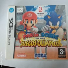 Videojuegos y Consolas: JUEGO NINTENDO DS MARIO & SONIC AT THE OLYMPIC GAMES MAGNIFICO. Lote 177708907