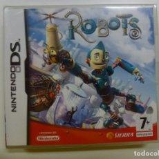 Videojuegos y Consolas: ROBOTS. NINTENDO DS. PRECINTADO. . Lote 178869112