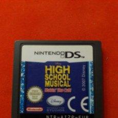 Videojuegos y Consolas: NINTENDO DS HIGH SCHOOL MUSICAL. Lote 178982401