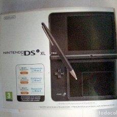 Videojuegos y Consolas: CAJA CON MANUALES NINTENDO DS I XL-VER FOTOS. Lote 179332922