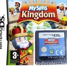 Videojuegos y Consolas: LOTE OFERTA JUEGO NINTENDO DS - MY SIMS KINGDOM - SIN CAJA - SOLO JUEGO. Lote 180150781