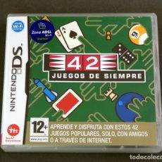 Videogiochi e Consoli: 42 JUEGOS DE SIEMPRE NINTENDO DS CON INSTRUCCIONES. Lote 180345475