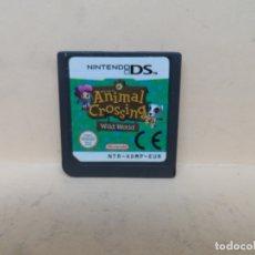 Videojuegos y Consolas: NDS ANIMAL CROSSING WILD WORLD PAL ESP . Lote 180470127