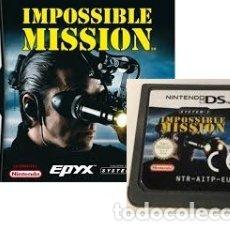 Videojuegos y Consolas: LOTE OFERTA JUEGO NINTENDO DS - IMPOSSIBLE MISSION - SIN CAJA SOLO JUEGO. Lote 181122443